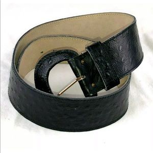 Vintage Anne Klein for Calderon Wide Leather Belt